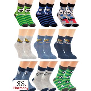 RS. Harmony   Kinder-Socken mit Motiv für Jungs
