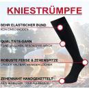 """RS. Harmony   Kniestrumpf """"Uni-Farben"""" für Herren"""
