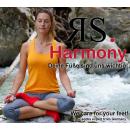 RS. Harmony   Kurzstrumpf Quater-Socks mit Rollrand für Damen