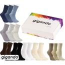 gigando Premium | Socken Uni-Farben für Damen