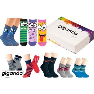 gigando Premium | Kinder Frottee-Socken mit Motiv