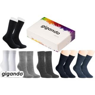 "gigando Premium   Wellness-Socke ""Frottee-Sohle"" für Damen & Herren"