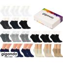 "gigando Premium | Sneaker-Socken ""Bambus..."