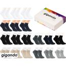 gigando Premium | Kurzsocken Quarter-Socks für Damen...
