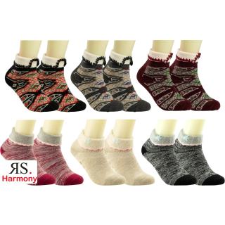RS. Harmony   Woll-Socke mit Angora-Wolle für Damen