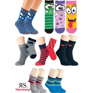 RS. Harmony   Kinder Frottee-Socken mit Motiv