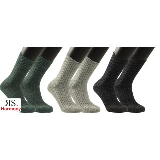 "RS. Harmony   Woll-Strumpf ""Norweger-Socken"" für Herren"