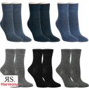 "RS. Harmony | Woll-Socken ""Uni-Farben"" für..."