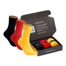 gigando  | colorful Baumwoll-Socken in Landesfarben  | 3...
