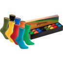 gigando  | colorful Baumwoll-Socken  | 8 Paar  | olive,...