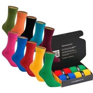 gigando  | colorful Baumwoll-Socken | 4 Paar