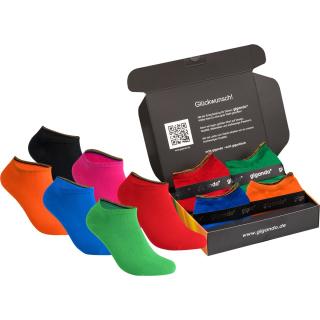 """gigando Premium   Sneaker-Socken """"Colorful"""" für Sie & Ihn"""