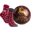 gigando    Comfortable Christmas Socks for Ladys in...